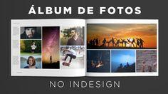 Criando álbum de fotos no InDesign