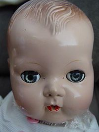 Tiny Tears Doll era 1950's-1960