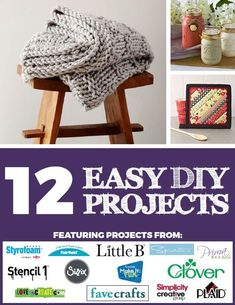 12 Easy DIY Projects That Will Restore Your Faith in Crafting