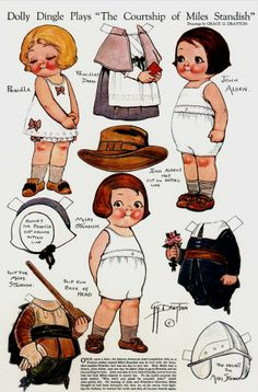 dolly dingle:  Free printable paper dolls of the Campbell soup Kids.  Print these for your little guests over the holidays...will keep  them busy.