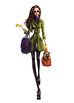 Pergamino >> I know this is a fashion illustration, but I like it!  :-)