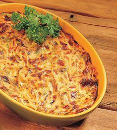 Helppo sadepäivän spagettivuoka Easy Cooking, Macaroni And Cheese, Salads, Spaghetti, Good Food, Food And Drink, Pasta, Dinner, Ethnic Recipes