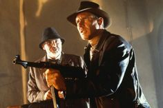 Indiana Jones and the Last Crusade - Sean Connery was awesome as Henry Jones.
