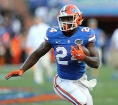 JC transfer RB Mark Thompson improved throughout the spring and has star potential. JAY METZ/UNIVERSITY OF FLORIDA ATHLETICS