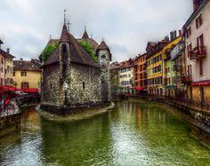 Annecy 2 - Le Palais de l'Isle by zaphotonista.deviantart.com on @deviantART