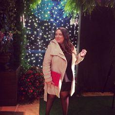Casaco quentinho e saia de couro para acompanhar o desfile da @donnabrasiliana no @portoalegre_countryclub ontem! O frio definitivamente chegou por aqui! Yaaaay! #ootd #lookdodia #lookdadaphne #outfitoftheday #fashion #fashionblogger #moda #style #blogger #blogueira #blog #desfile #donnabrasiliana #inverno #winter #frio #cold #karllagerfeld #riachuelo #pacc #portoalegrecountryclub #lifeasdaphne