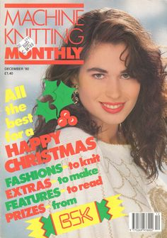 Machine Knitting Monthly Magazine 1990.12 Free PDF Download 300dpi ClearScan OCR
