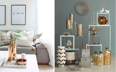Marzua: El color metalizado en decoración