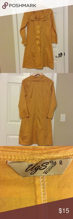 Yellow Long Tunic Very good condition! Tops Tunics