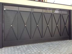 portão de ferro para garagem resistente