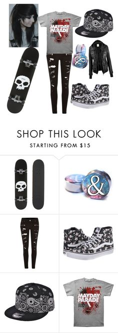"""""""Untitled #113"""" by marclinependragon ❤ liked on Polyvore featuring Zero, River Island and Vans"""