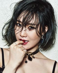 Yezi (Fiestar) - GQ Magazine February Issue '16