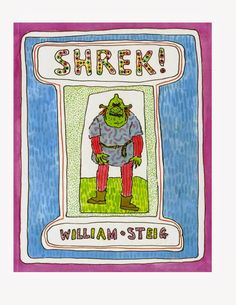 Shrek! is a picture book written and illustrated in 1990 by American cartoonist William Steig about a ogre who leaves home to see the world and ends up saving a princess. this story book is the inspiration for the 2001 modern fairy tale Shrek. Because this small book series ended up inspiring one of the biggest franchises with 6 movies, 4 games with multiple spin offs, a beloved internet fanbase I've place it on this list.