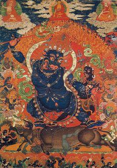 Mahakala - protector of Buddhism, bodhisattva