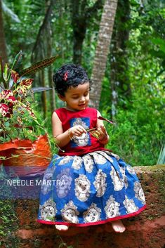 Welcome to my channel NEEDLE MANTRA. Here you can find amazing sewing videos and DIY ideas. Cotton Frocks For Kids, Kids Frocks, Frocks For Girls, Kids Lehanga Design, Kids Lehenga, Baby Lehenga, Frock Models, Baby Dress Design, Frock Design