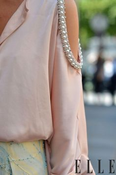 Pearl trim