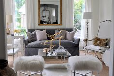 Love the greys and the textures.