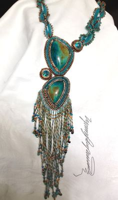 Aurba One of a Kind Art Piece Made one bead at a by LynnParpard