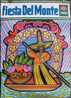 Vintage 1969 Poster