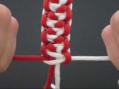 How to Make a Lizard Belly Bar (Paracord) Bracelet by TIAT