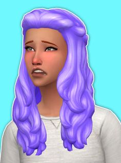 Wings (This hair style has 15 kinds of color File size...)   Sims ...