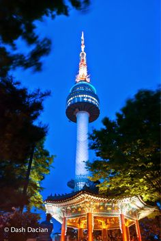 Pretty cool 62 Beautiful Images of Namsan Seoul Tower, South Korea