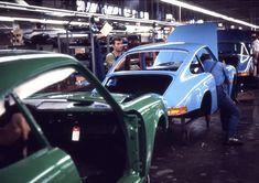 Porsche factory, Zuffenhausen, 1970