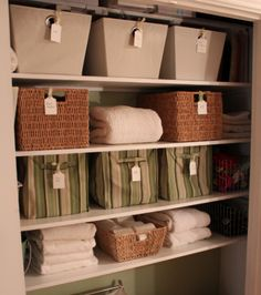 Organise My Linen - Daily Organising Tip