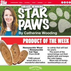 Very proud that my Honeysuckle Cat Toys have made it to the National Press! Perhaps your cat might like them too! 😸 Cat Magazine, Curious Cat, Cat Behavior, Cat Toys, Cool Cats, Blog, Blogging