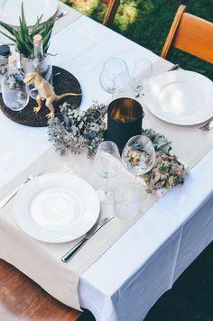 Annies wedding decor / succulents / Dinosaur / Decor Idear / Hochzeitsdeko / Sukulenten / Dinosaurier