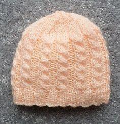 Crochet Baby Hats Ravelry: Premature Baby Hats pattern by Esther Kate - Premature Baby Hats Baby Hat Knitting Patterns Free, Baby Hat Patterns, Baby Hats Knitting, Knitted Hats, Crochet Preemie Hats, Crochet Baby Booties, Baby Hut, Crochet Baby Blanket Beginner, Baby Girl Hats