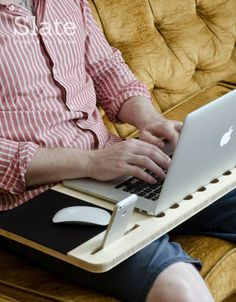 Slate - Mobile AirDesk: The Essential Accessory For Your Laptop - iSkelter Products
