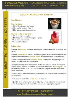 Sunday Caramel Fait Maison Tupperware