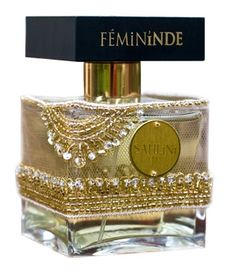 Femininde Sahlini Parfums for women Beautiful bottle.  Have no idea what the scent is like.