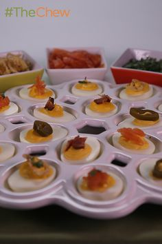 You'll have a devil of a good time when serving this Deviled Egg Party by Michael Symon at your next get together!
