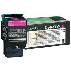 Lexmark C544X1MG Magenta Toner Cartridge #C544X1MG #Lexmark #TonerCartridges  https://www.techcrave.com/lexmark-c544x1mg.html