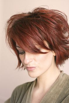 Best Hair Colors for Short Hair | http://www.short-haircut.com/best-hair-colors-for-short-hair.html