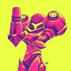 Some rad fanart of Samus from Metroid Metroid Samus, Metroid Prime, Samus Aran, Video Game Art, Video Games, Character Art, Character Design, Zero Suit Samus, Super Metroid