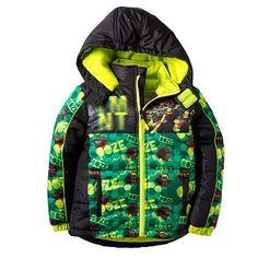 Teenage Mutant Ninja Turtles Hooded Puffer Jacket - Boys 4-7