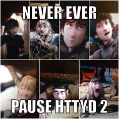 Is it just me or does Hiccup look dead young in the first picture