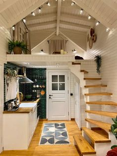 Tyni House, Tiny House Cabin, Tiny House Living, Tiny House Design, Tiny House Plans, Tiny Cabin Plans, Small Tiny House, A Frame Cabin, Furniture For Small Spaces