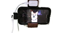 Galaxy S5 Solid Hardwood Wall Charger Dock Holder by Ntoys on Etsy $9.99 #galaxys5 #phonedock