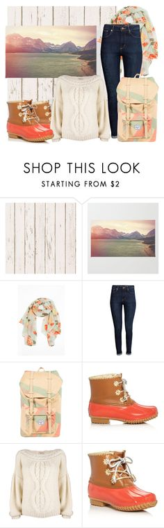 """Winter Pastels"" by rochellechristine ❤ liked on Polyvore featuring H&M, Herschel Supply Co., Jack Rogers, Mes Demoiselles..., Winter, pastel and winterboots"