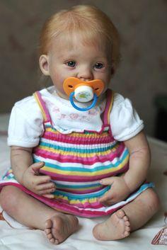 Ася - малышка реборн из молда Punkin / Куклы Реборн Беби - фото, изготовление своими руками. Reborn Baby doll - оцените мастерство / Бэйбики. Куклы фото. Одежда для кукол