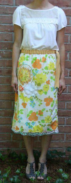 pillow case skirt inspiration