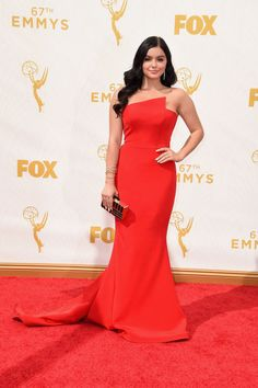Ariel Winter in Romono Keveza at the 2015 Emmys. See what all the stars wore to the ceremony.