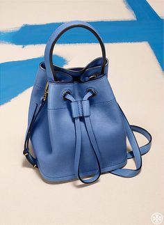The Bucket Bag.  The carefree slouch of a seventies silhouette, updated in a petite size.