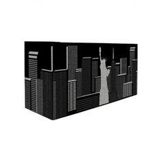 Porta Controle Remoto New York