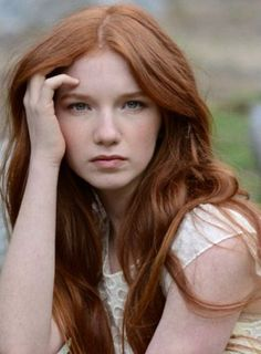 Annalise Basso as Scarlet in The Lunar Chronicles