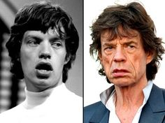 The Aging Of A Rock Star - (Mick Jagger - Rolling Stones)
